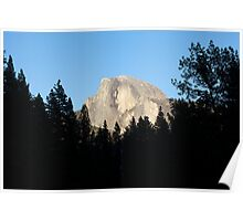 Half Dome from Sentinel Bridge, Yosemite National Park. Poster