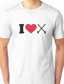 I love Polo Unisex T-Shirt