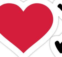 I love Polo Sticker