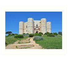 Castle Del Monte - Apulia - Italy Art Print