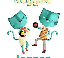 Blue Cats Reggae Jeggae by colonelle