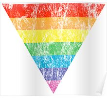 rainbow triangle Poster