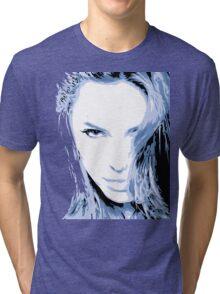 Angelina Jolie Vector Illustatrion no. 2 Tri-blend T-Shirt
