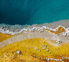 Morning Glory Pool, Yellowstone National Park by Jonathan Maddock