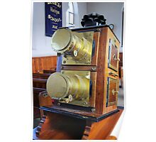 Antique Projector Poster