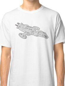Pink Spaceship Classic T-Shirt