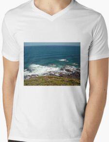 Bass Strait Mens V-Neck T-Shirt