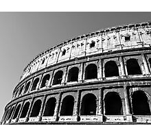 The Colosseum of Ancient Rome Photographic Print
