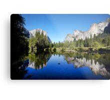 Yosemite Valley, California, USA. Metal Print
