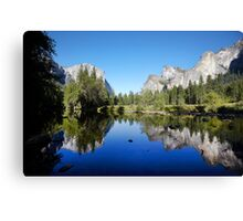 Yosemite Valley, California, USA. Canvas Print