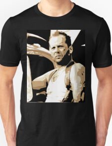 Bruce Willis Vector Illustration T-Shirt