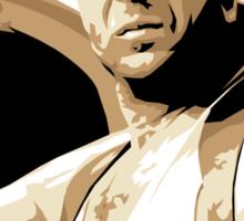 Bruce Willis Vector Illustration Sticker