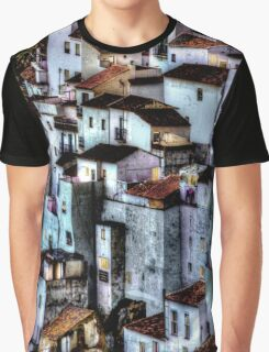 Casares, Andalusia, Spain. A famous white village Graphic T-Shirt