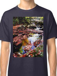 River walk in autumn Classic T-Shirt