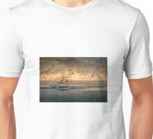 Returning to harbour with a good catch Unisex T-Shirt