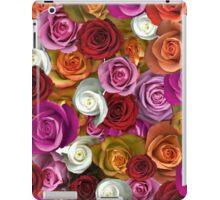 Multi Colored Roses iPad Case/Skin