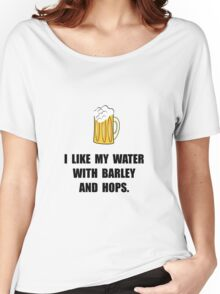 Barley Hops Beer Women's Relaxed Fit T-Shirt