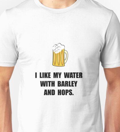 Barley Hops Beer Unisex T-Shirt