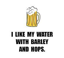 Barley Hops Beer Photographic Print