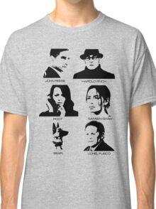 Person of Interest - Team Machine Classic T-Shirt