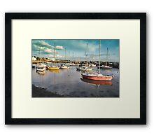 Titchfield Haven Harbour, England Framed Print