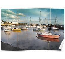 Titchfield Haven Harbour, England Poster
