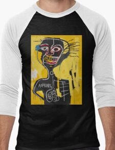 Basquiat AOTKHPES Samo Men's Baseball ¾ T-Shirt