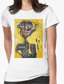 Basquiat AOTKHPES Samo Womens Fitted T-Shirt