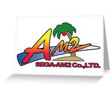 SEGA AM2 JAPAN Greeting Card