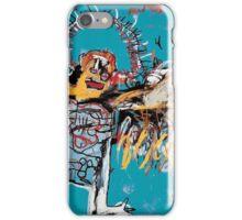 Basquiat unfallen angel ange en vol iPhone Case/Skin