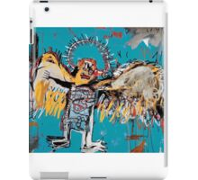 Basquiat unfallen angel ange en vol iPad Case/Skin