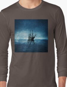 ghost ship 1 Long Sleeve T-Shirt