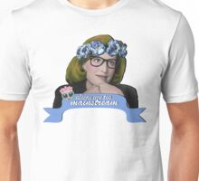 Hipster Scully - Aliens are too Mainstream Unisex T-Shirt