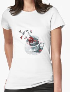 Cup of Nature Womens Fitted T-Shirt