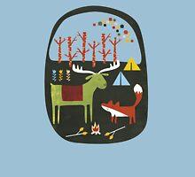 Woodland camping trip Unisex T-Shirt