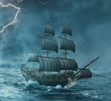 ghost ship III Sticker
