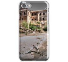 Abandoned, haunted house in Cordoba iPhone Case/Skin