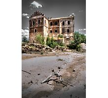 Abandoned, haunted house in Cordoba Photographic Print