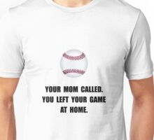 Baseball Game At Home Unisex T-Shirt