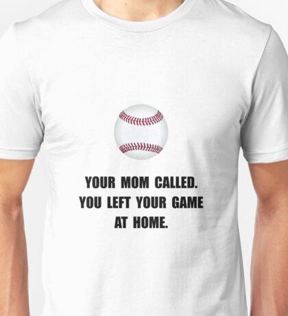 Baseball Game At Home Unisex T-Shirt