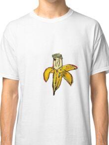 Basquiat banane jaune pourrie ouverte banana yellow 2 Classic T-Shirt