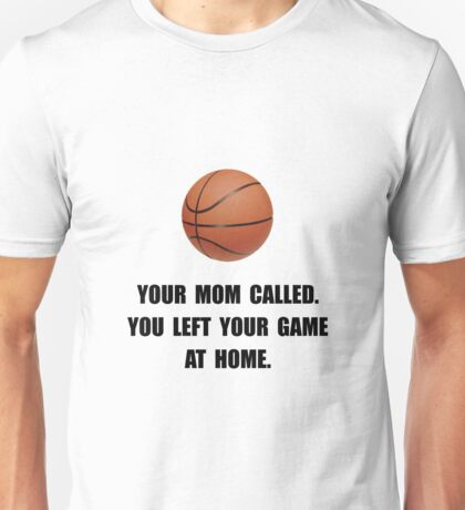 Basketball Game At Home Unisex T-Shirt