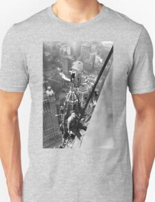 Vintage Photo of Workers in New York Unisex T-Shirt