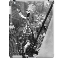 Vintage Photo of Workers in New York iPad Case/Skin