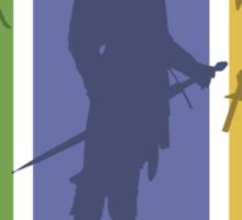 The Three Hunters Sticker