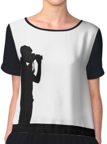 The photographer Chiffon Top