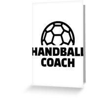 Handball coach Greeting Card