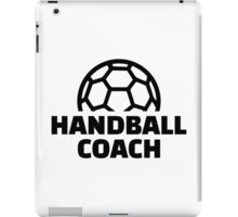 Handball coach iPad Case/Skin