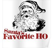 Santas Favorite HO Poster