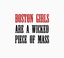 Boston Girls Wicked Piece Mass Women's Fitted Scoop T-Shirt